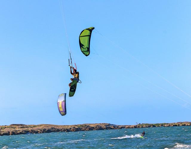 Kitesurfing Adventure Sport